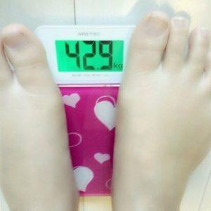 郷杏樹体重
